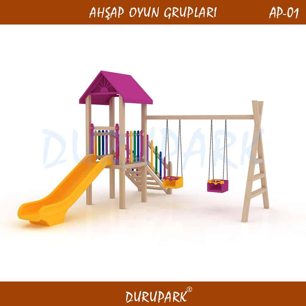 AP01- Wood Playground Areas