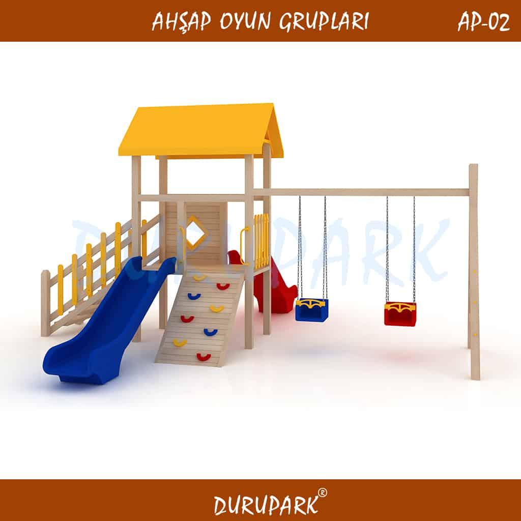 AP02 - Wood Playground Areas