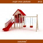 AP03 - Wood Playground Areas
