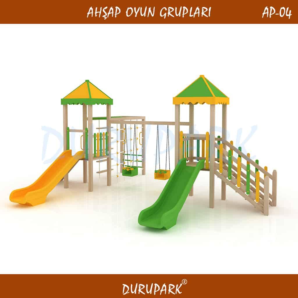 AP04 - Wood Playground Areas
