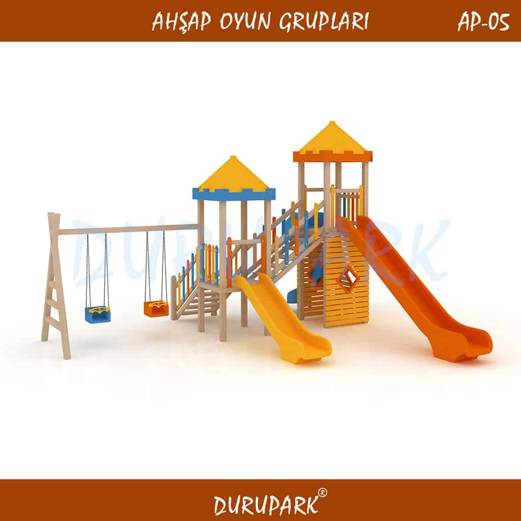 AP05 - Wood Playground Areas