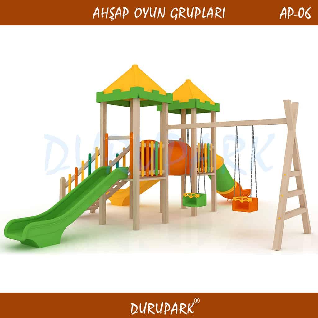 AP06 - Wood Playground Areas