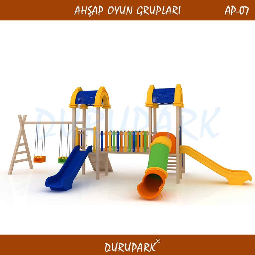 AP07 - Wood Playground Areas