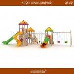 AP08 - Wood Playground Areas