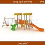AP11 - Wood Playground Areas