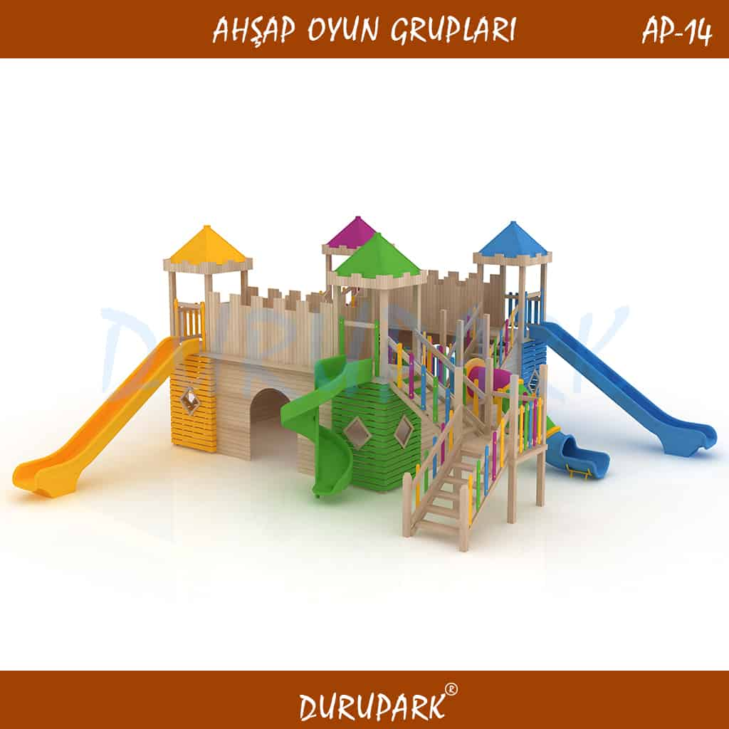 AP14 - Wood Playground Areas