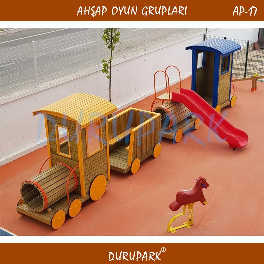 AP17 - Wood Playground Areas